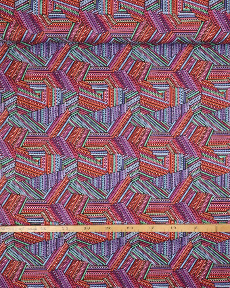 Multifarvet - Patchwork -