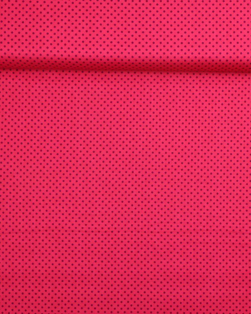 Prikker Pink/lilla- Patchwork -