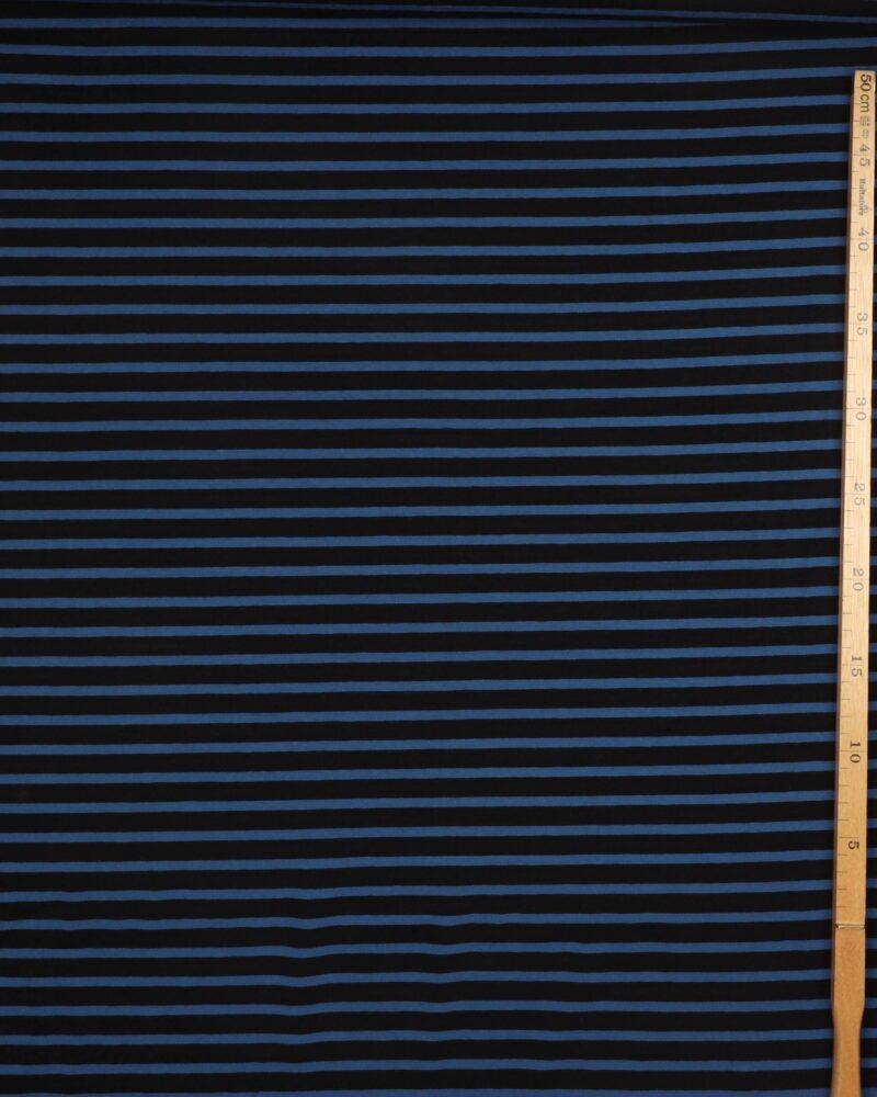 Striber, sort og blå - Jersey -