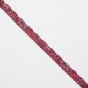 Pink elastik med dyreprint -