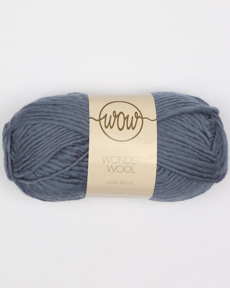 Wonder Wool, Dueblå- 100% uld -