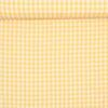 10x10 mm Tern, gul/hvid - Bomuld -