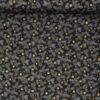 Gold Shimmers, sort m. guld og kogler - Patchwork -