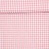 10x10 mm Tern, rosa/hvid - Bomuld - Info mangler
