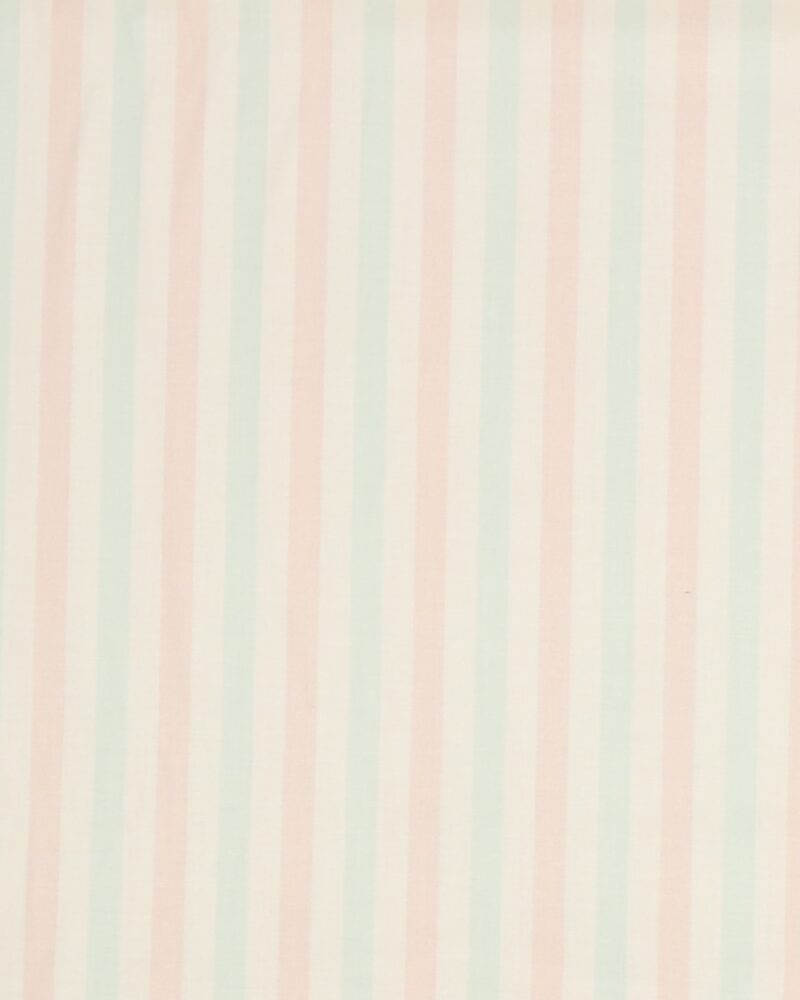 Striber, hvid/lyserød/lyseblå - Patchwork - Info mangler