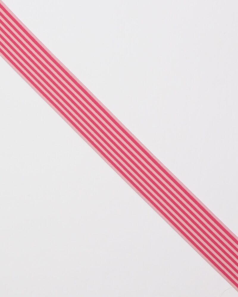 Striber, pink/lyserød - 40 mm elastik -