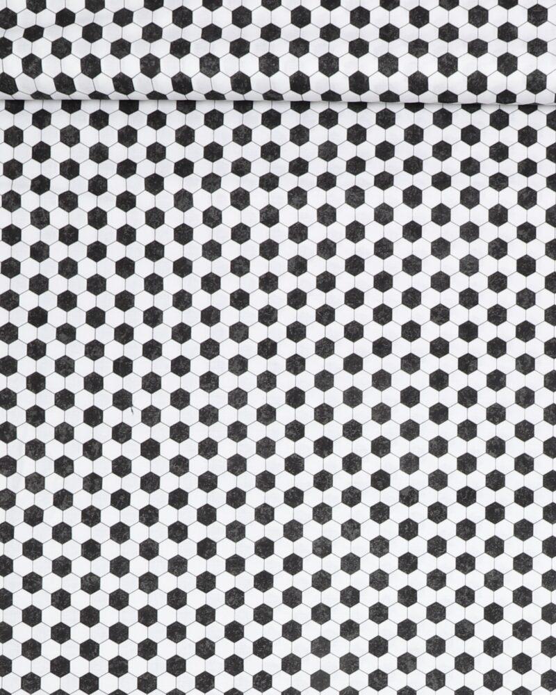 Mønster som en fodbold - Patchwork -