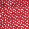 Fodbolde på rød bund - Patchwork - Info mangler