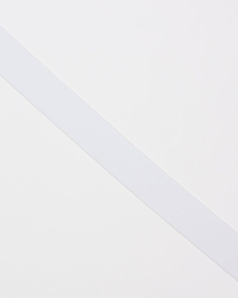 Hvid - 40 mm elastik -