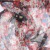 Blomstermønster - Silkechiffon -