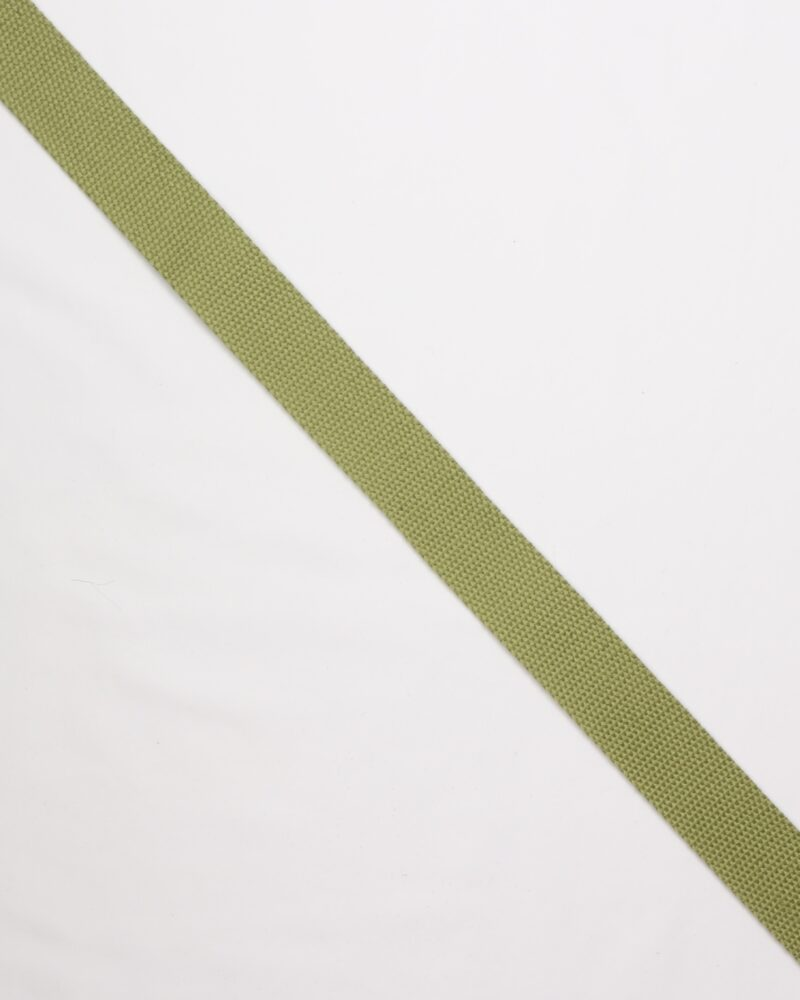 Lys olivengrøn - Gjordbånd 32 mm -