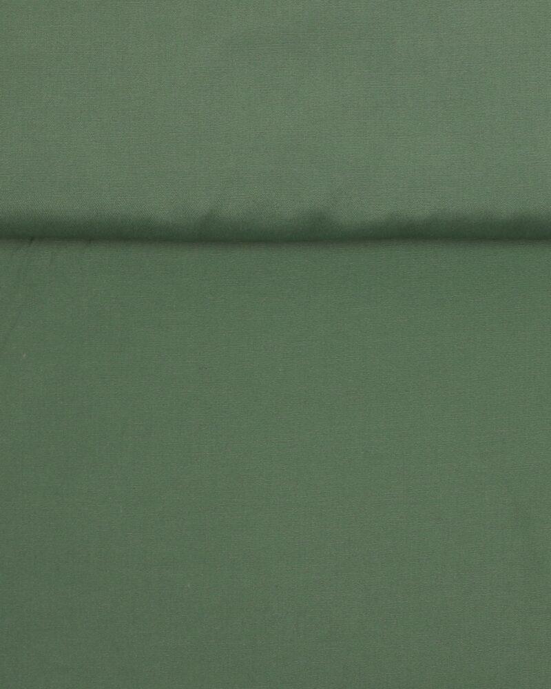 Støvet olivengrøn - Bomuld/polyester -