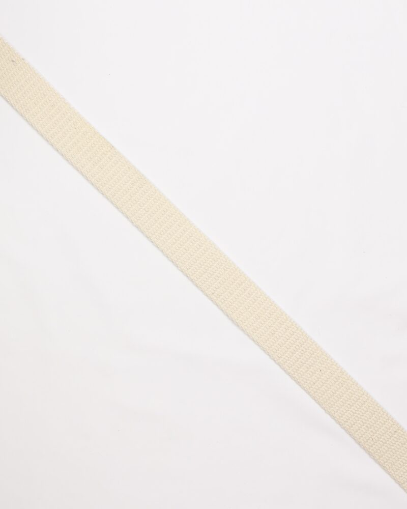 Creme - Gjordbånd 30 mm -