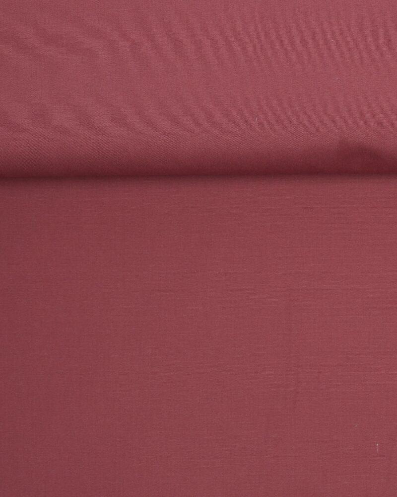 Mørk gammelrosa - Bomuld/polyester -