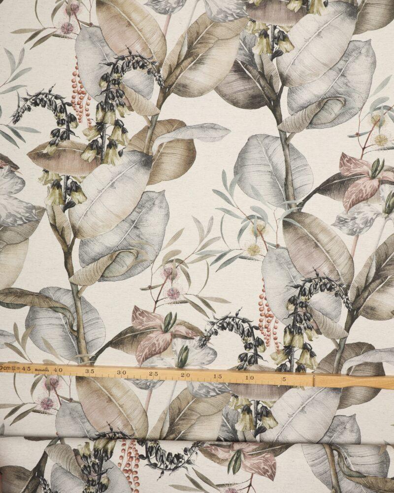 Mimoser og store blade - Boligtekstil -