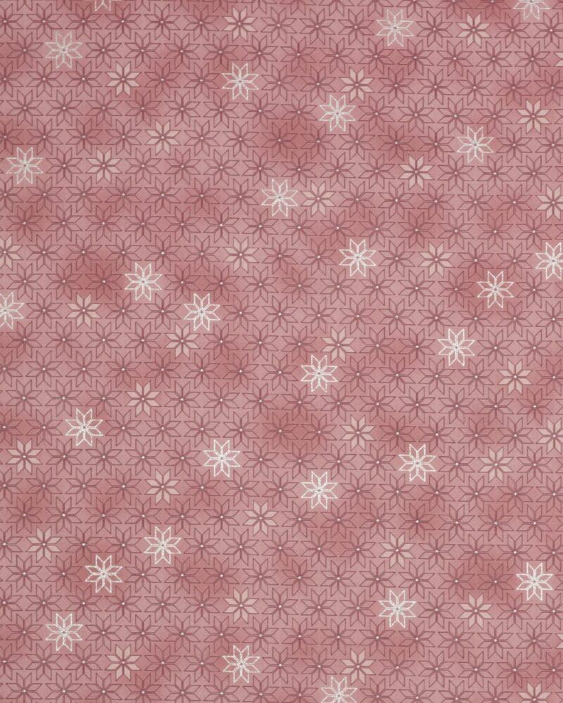 Christmas is near, Gammelrosa m. sølv - Patchwork -