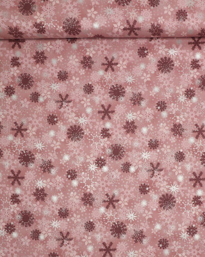 Christmas is near, Gammelrosa m. sølv - Patchwork - Info mangler
