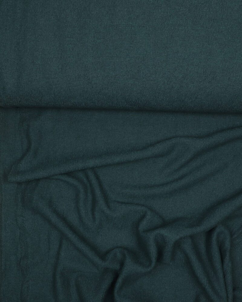Mørkegrøn - Uld/polyester - Info mangler