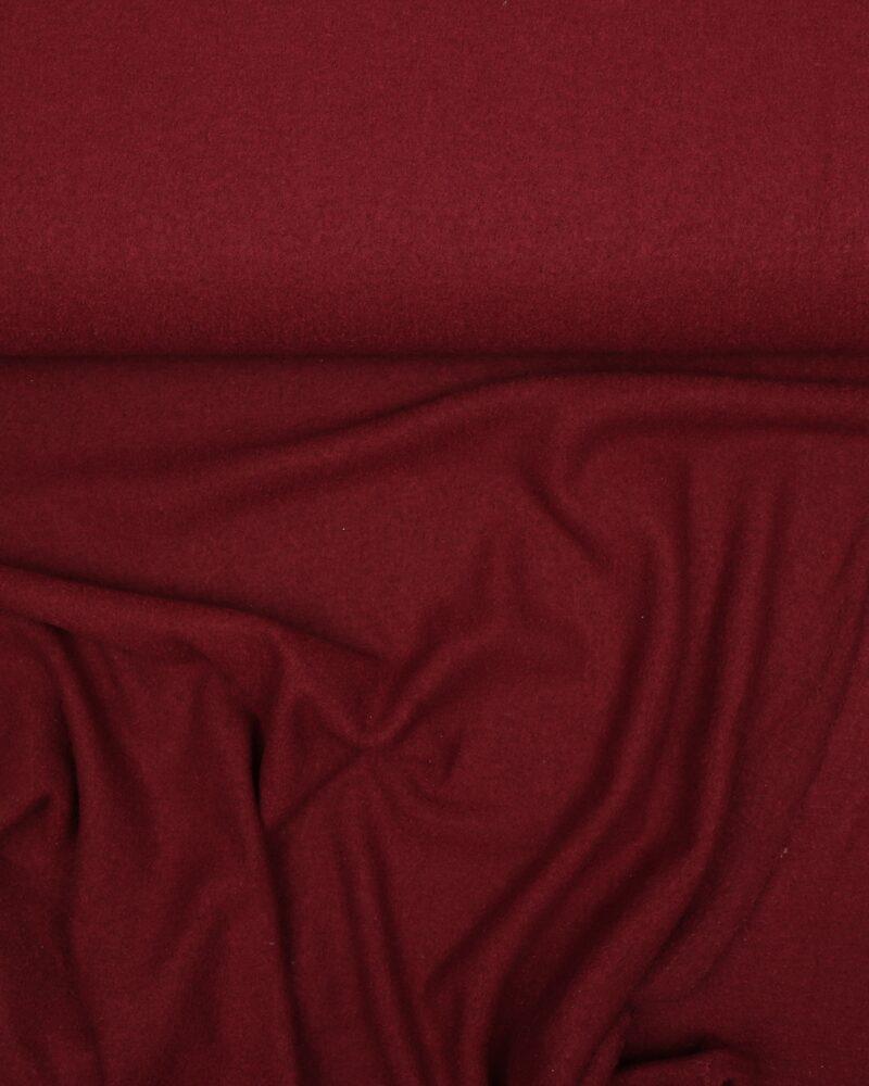 Mørkerød - Uld/polyester - Info mangler