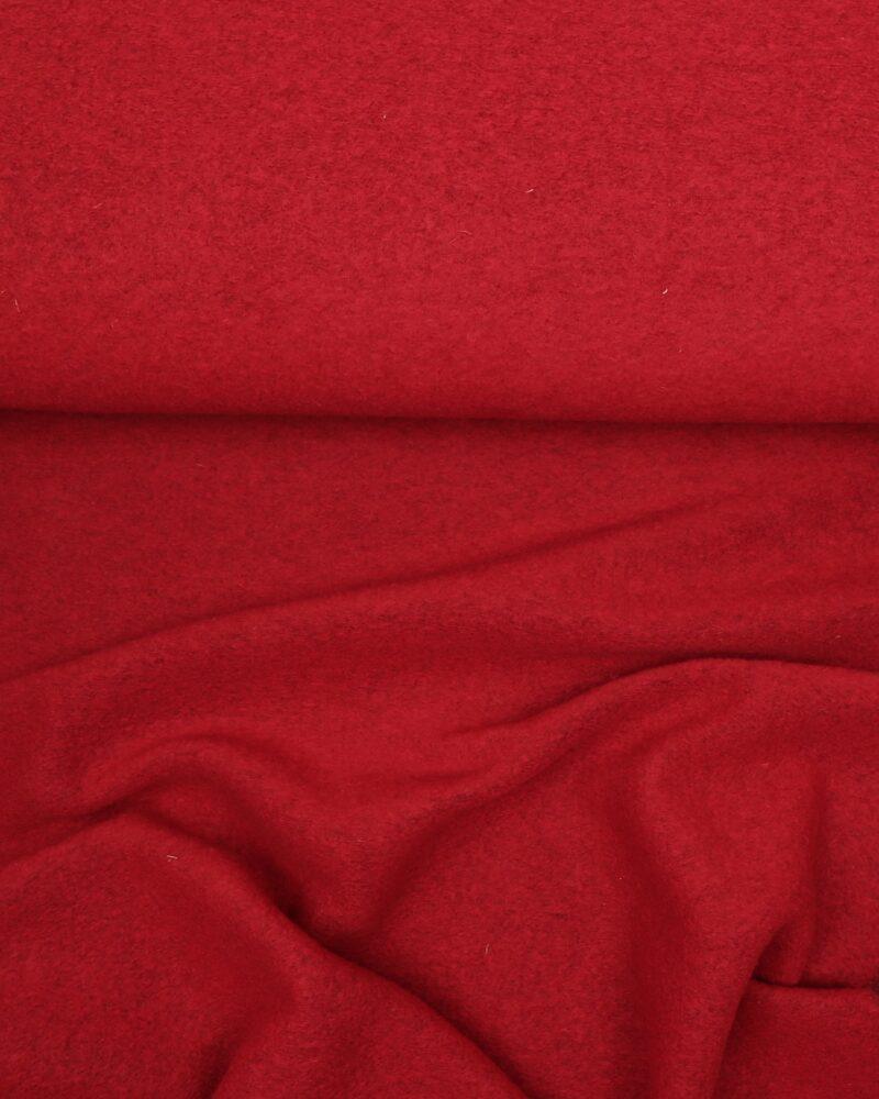 Rød - Uld/polyester - Info mangler