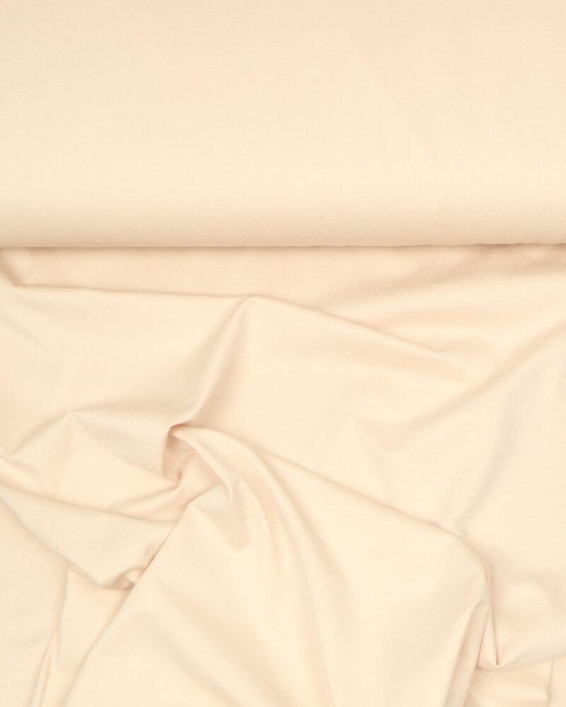Lys beige - Viskose jersey - Info mangler