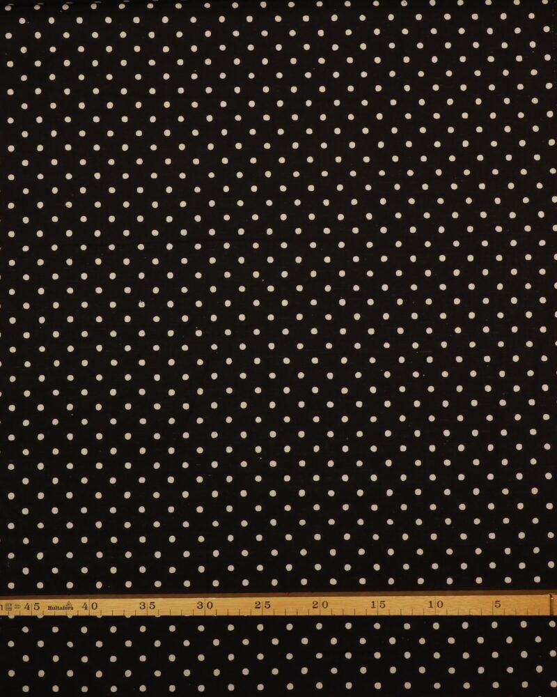 Hvide prikker på sort - Patchwork -