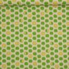 Grønne æbler på naturfarvet bund - Patchwork -