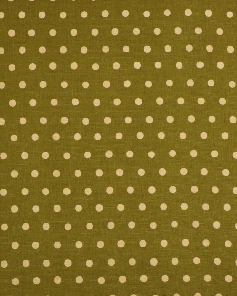 Grøn m. prikker - Patchwork -