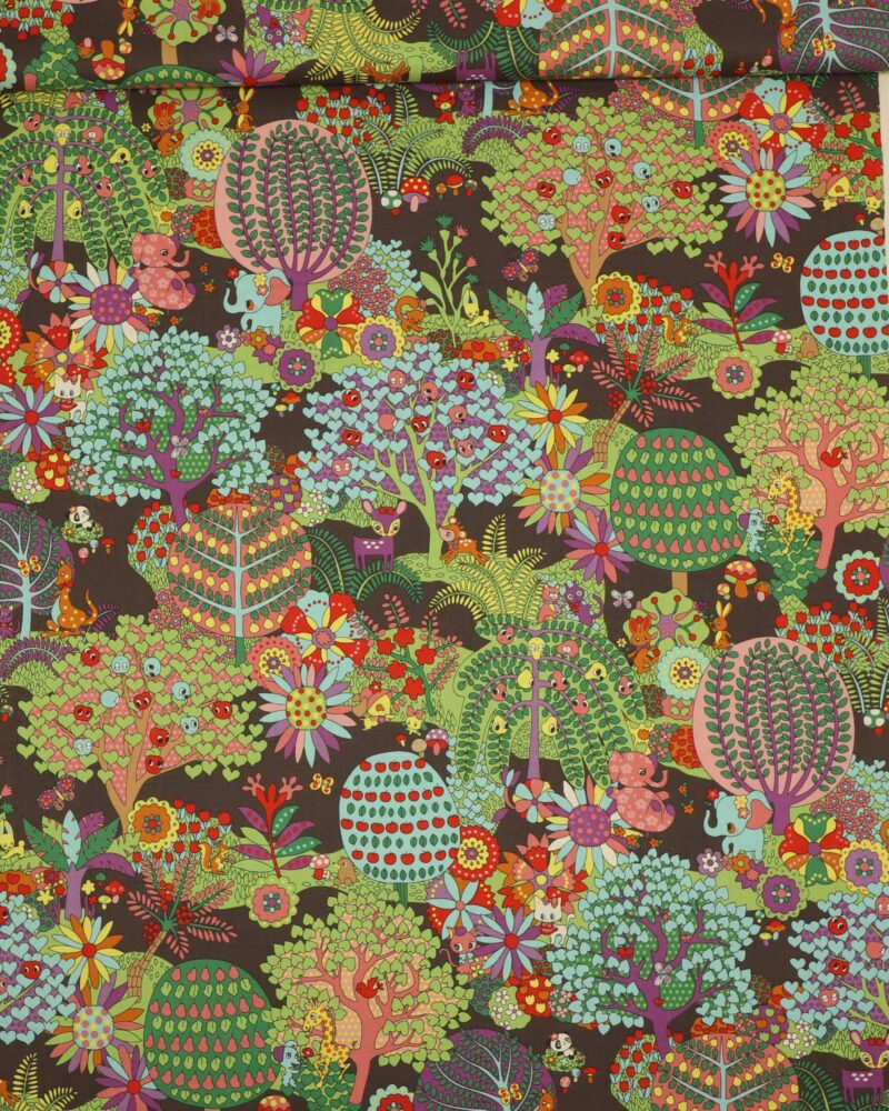 Dyr og skov fra Kokka - Patchwork -