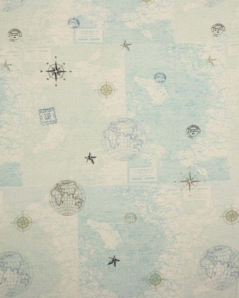Old Schoole Map 1 - Patchwork -