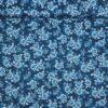 Chinoiserie Garden, hvid/blå blomster - Patchwork -