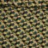 Grafisk mønster i grønne nuancer - Viskose - Info mangler