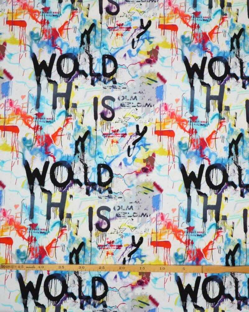 Toronto, grafitti - French Terry - Info mangler