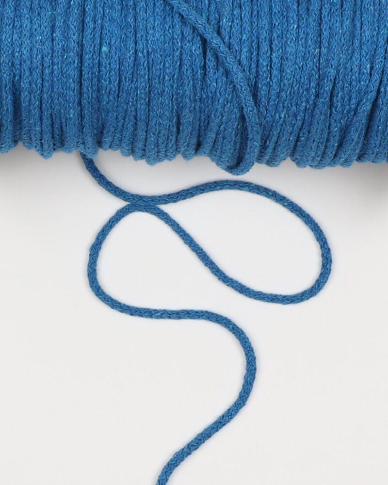 Koboltblå 4,5 mm - Bomuld -