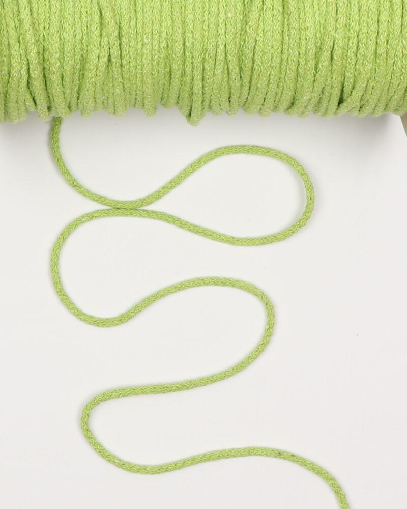 Limegrøn 4,5 mm - Bomuld -